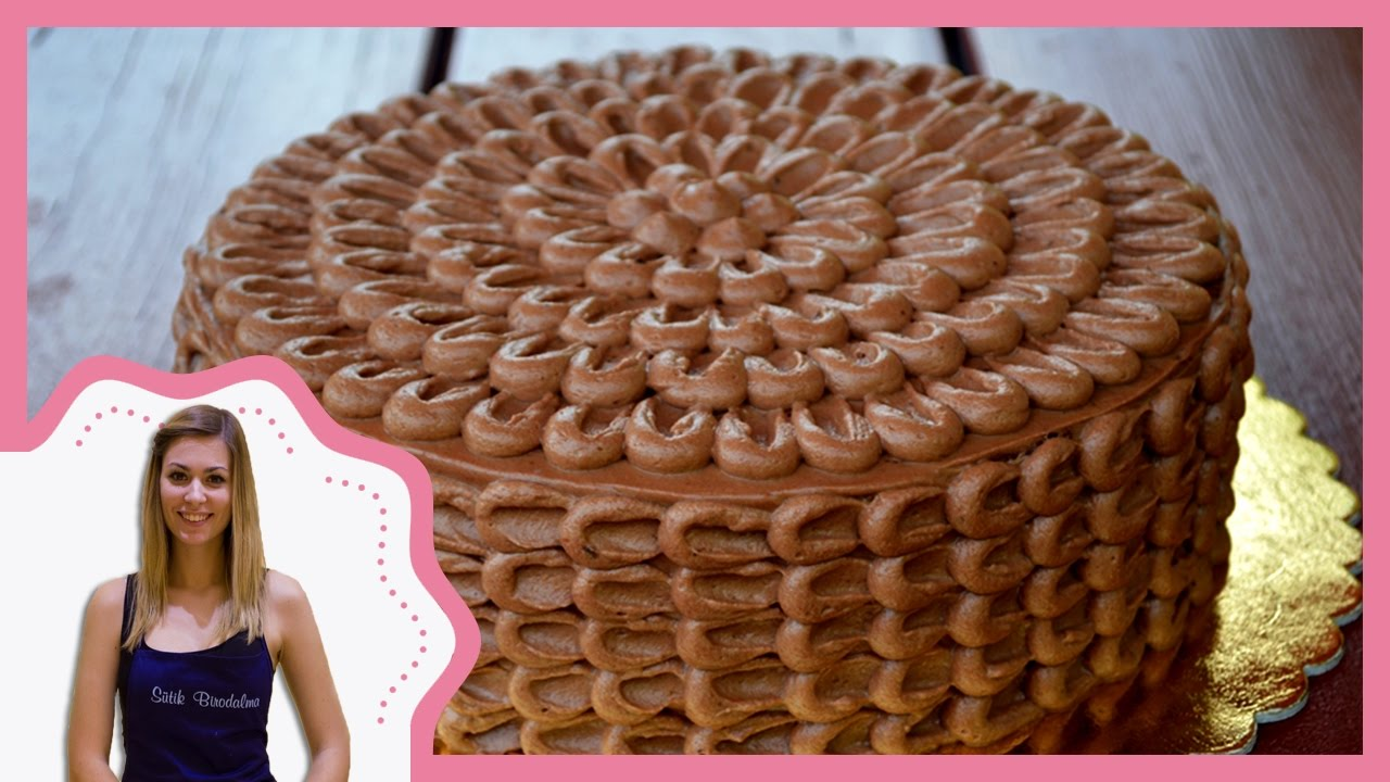 szülinapi torta díszítések Csokitorta díszítés recepttel   Sütik Birodalma   YouTube szülinapi torta díszítések