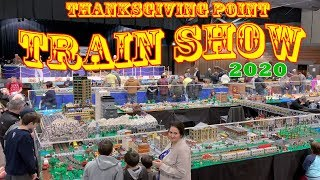 Train Show at Thanksgiving Point Utah January 2020 - 30TH ANNIVERSARY