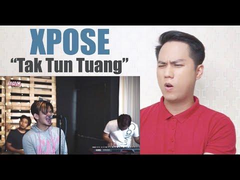 Tak Tun Tuang - Xpose (Cover Rock Version) | REACTION