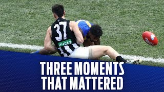 West Coast v Collingwood | Three moments that mattered | 2018 Toyota AFL Grand Final | AFL