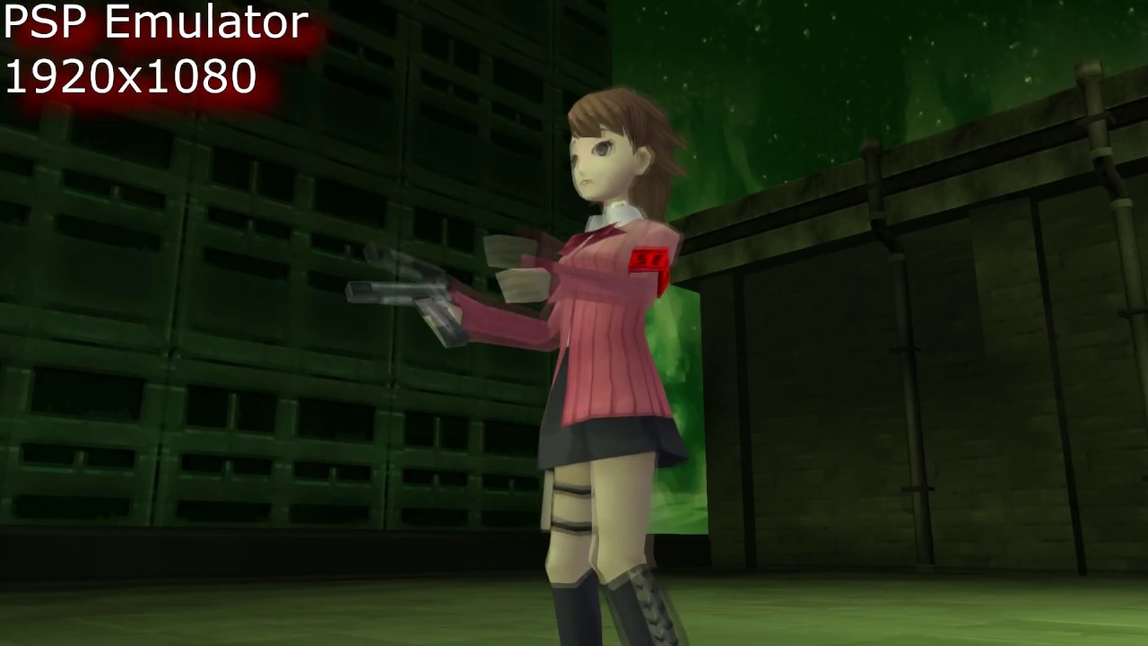 PSP Emulator PPSSPP on PC  A ramble video test with Persona 3 Portable