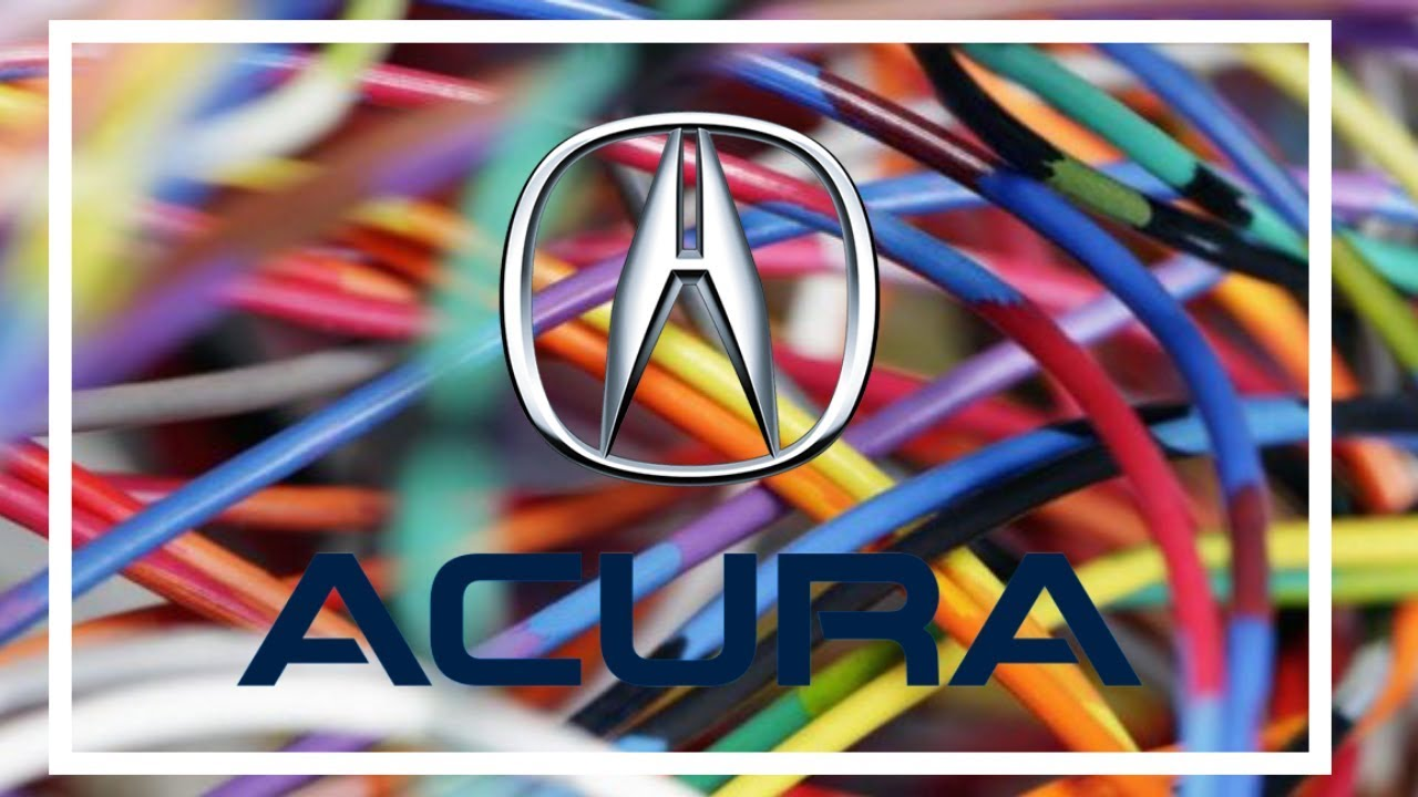 hight resolution of  acura acura mdx wiring diagrams 1998 to 2016 youtube on acura engine diagrams