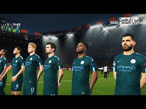 PES 2018   FC Basel vs Manchester City   UEFA Champions League (UCL)   Gameplay PC