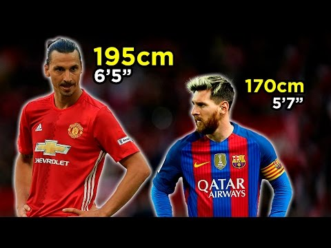 How Tall Are The Best Footballers In The World