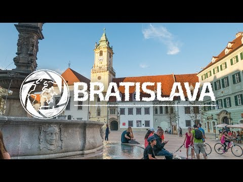 Bratislava - Slovakia 4K | Travel Video