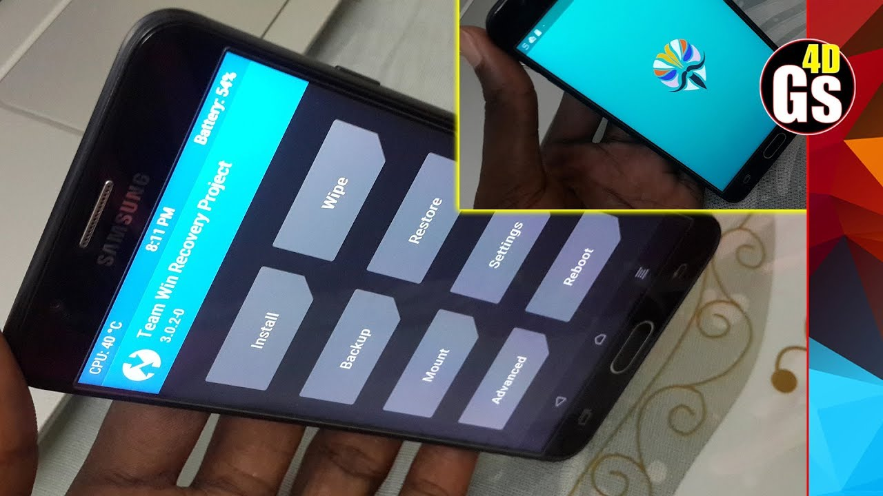 Install TWRP And Magisk ROOT on Android 8 1 0 Galaxy J7 Prime Easily