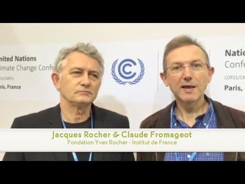 La Fondation Yves Rocher présente à la COP21 !