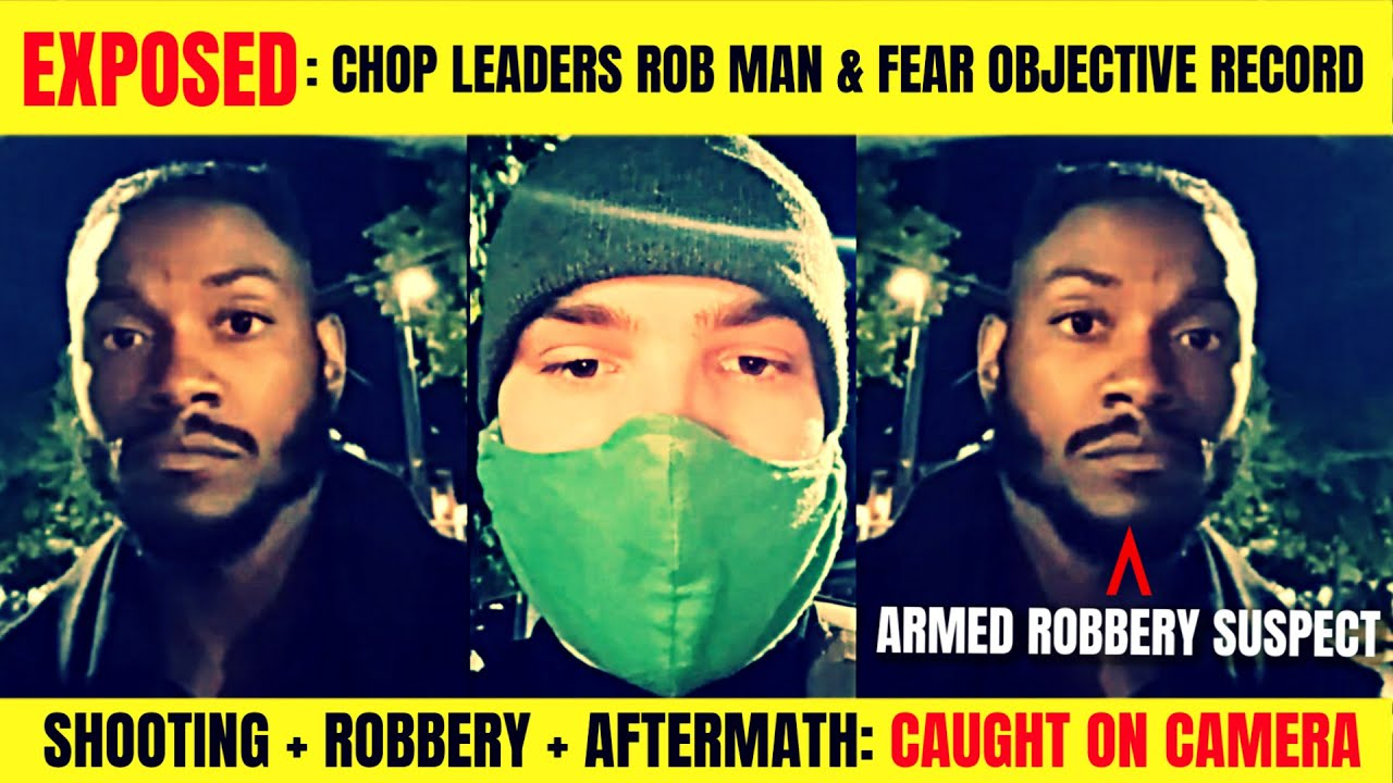 CHOP Leaders Caught Robbing Live-Streamer After Shooting | BLM Fears Objective Record, Delete FAIL