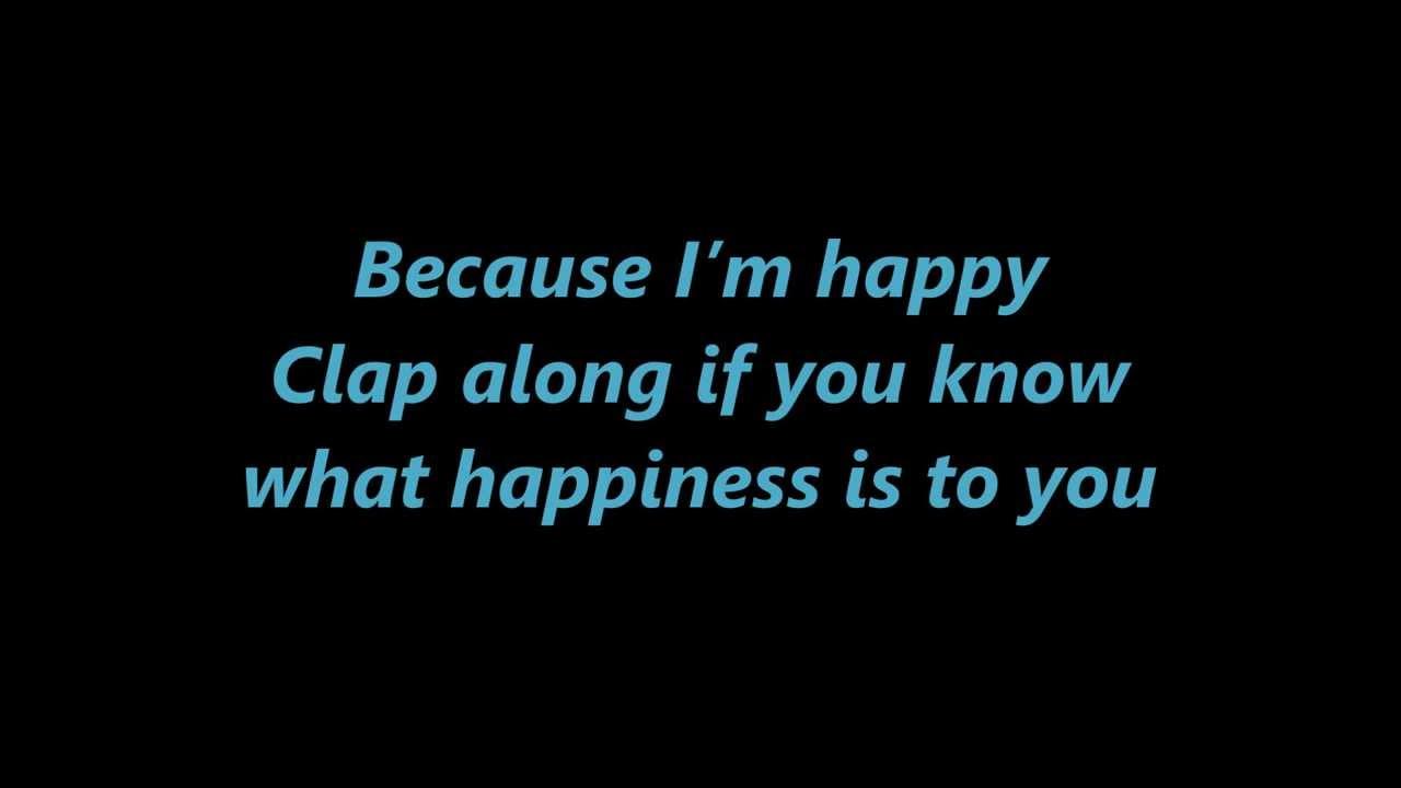 pharrell williams happy despicable me 2 lyrics 1080p