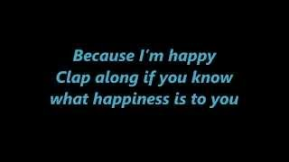Pharrell Williams - Happy Despicable Me 2 Lyrics 1080p
