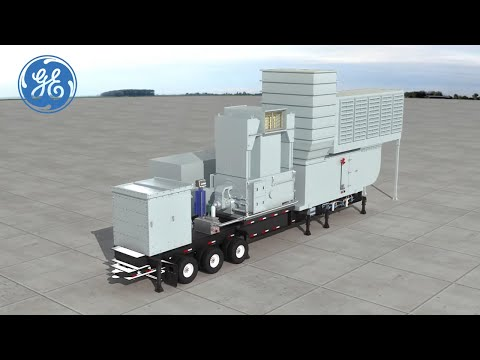 TM2500+ - GE's Power Plant on Wheels