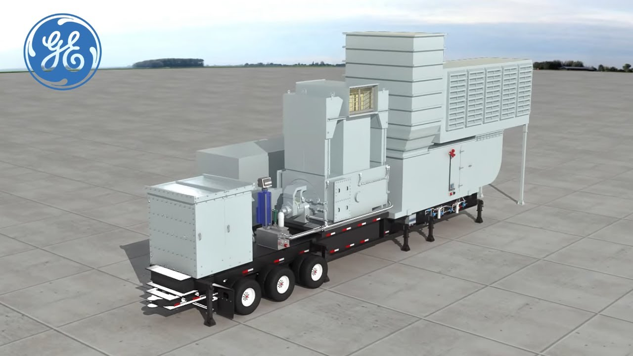 TM2500+ is GE's Power Plant on Wheels   Gas Power Generation   GE Power