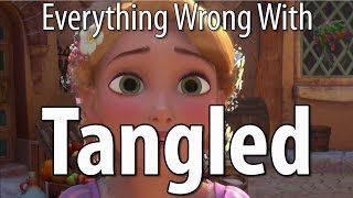 Everything Wrong With Tangled In 14 Minutes Or Less thumbnail