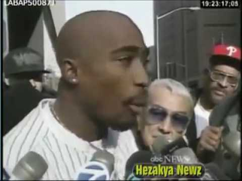 Full Interview: Tupac Outside Courthouse, N.Y. - November 29, 1994 (#2PacLegacy.net)