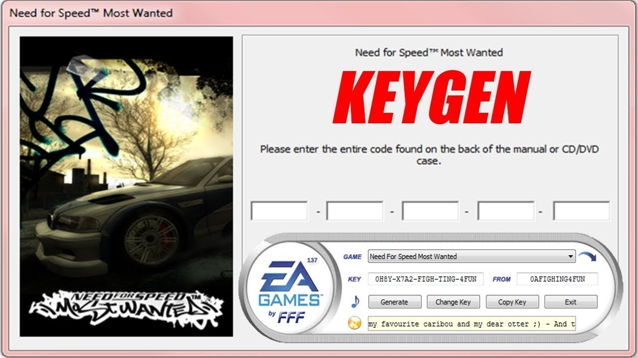 Serial nfs most wanted 2005