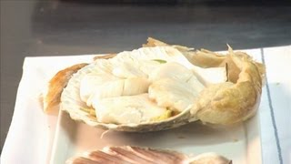 Scallop Recipe: Steamed Scallops With Soy, Ginger, Garlic & Chili | 09
