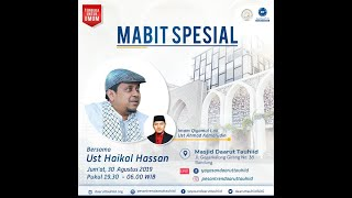 Download lagu Kajian Spesial Ustadz Haikal Hassan MP3