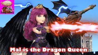 Mal is the Dragon Queen  Part 46  Descendants Reversed Disney