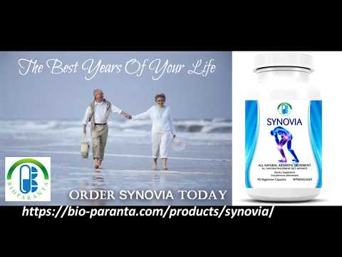 SYNOVIA: Advanced Formulation for Pain Relief and Treatment of Arthritis