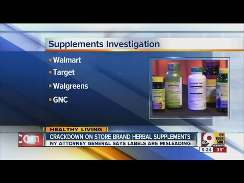 Crackdown on herbal supplements