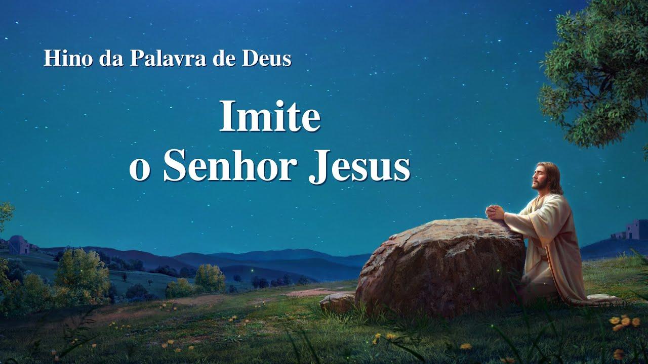 "Hino gospel 2020 ""Imite o Senhor Jesus"""