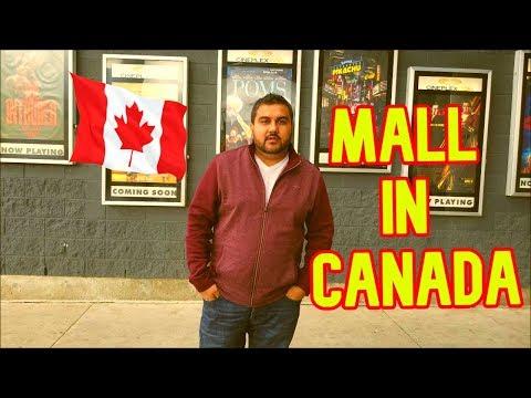 🇨🇦 Shopping Mall In Canada | Cineplex | Toronto | Desi | Hindi