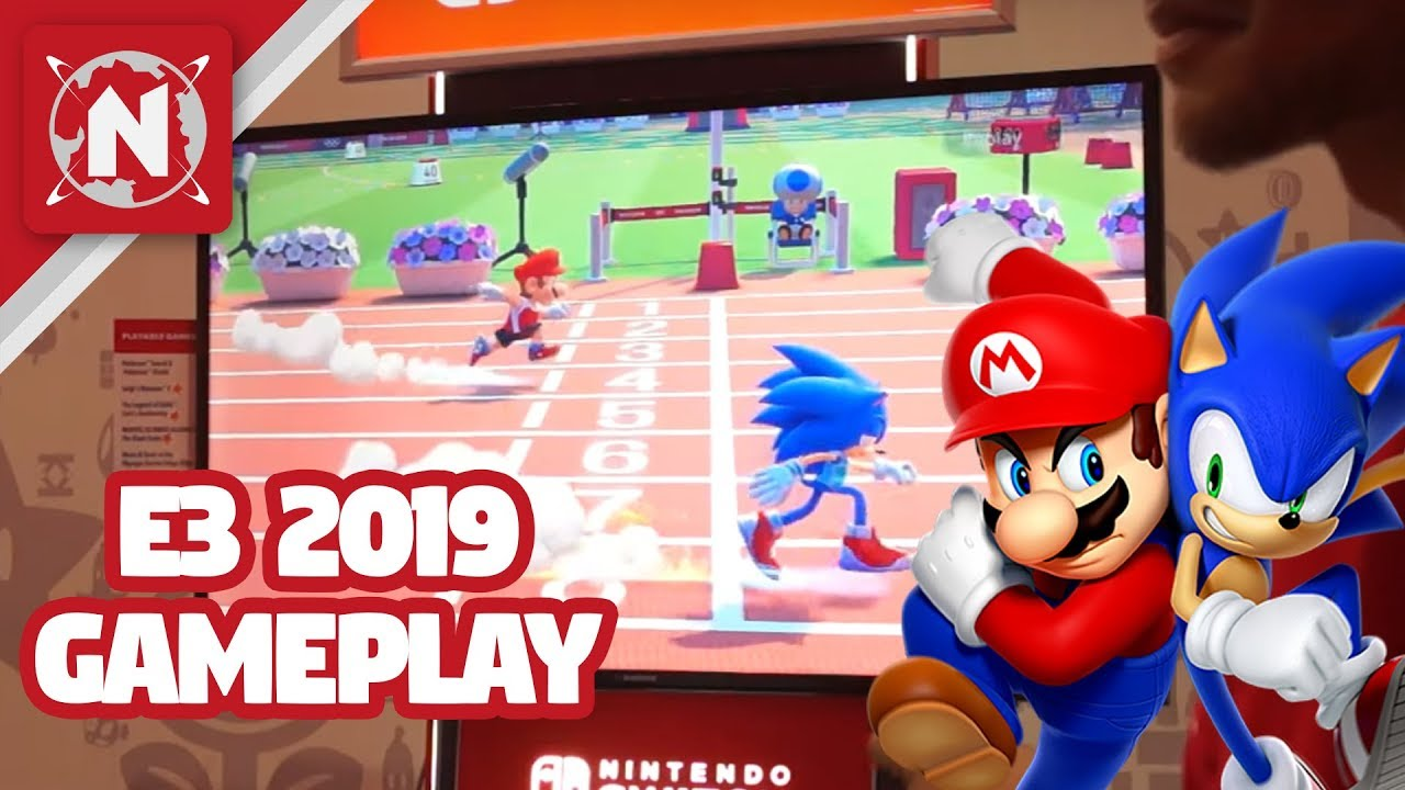 E3 Games 2020.Mario Sonic At The Olympic Games Tokyo 2020 E3 2019 Gameplay