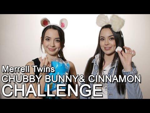 Chubby Bunny Challenge & Cinnamon Challenge - Merrell Twins