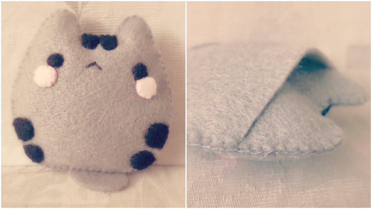 How to sew cute mamegoma. Kawaii plush toy. Diy + template. Youtube.