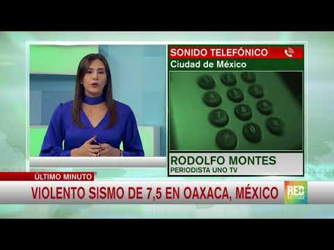 RED+ | Sismo en México de magnitud 7,2