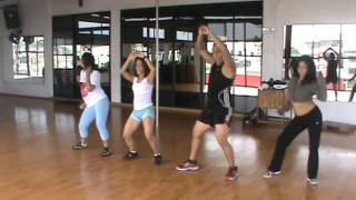 bruce castro bailoterapia - Movimiento de Caderas- Rayo y Toby