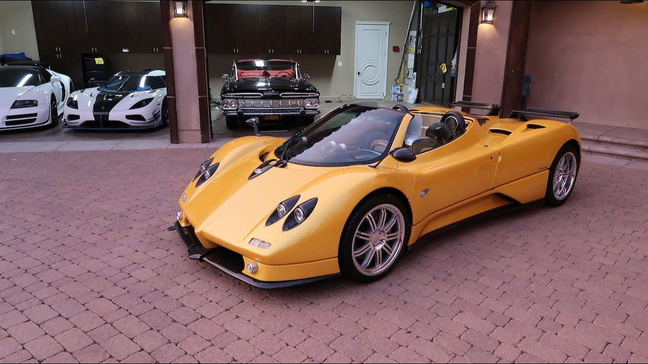 OUR NEW CAR: Pagani Zonda S Roadster!