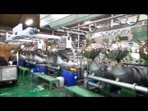섬유기계 dyeing machine textile manufacturing