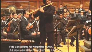 "EUSTACHE-DUDAMEL-SBYO: ""Suite Concertante For World-WWs & Orch"", Movs. 1 & 2 [of 12]"