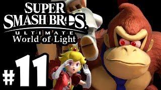 Super Smash Bros Ultimate - World of Light PART 11 - DK Pauline Spirit - Switch Gameplay Walkthrough