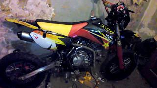 PitsterPRO zongshen 190 5 speed Black Edition