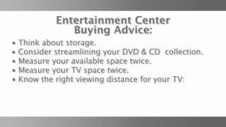 Entertainment Center Advice: Things To Know Before You Buy