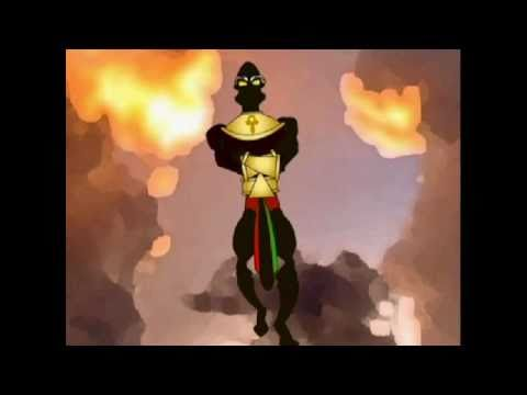 Afro-Man The Black Animated SuperHero