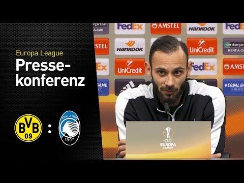 """Ömer Toprak: """"Wir sind gewarnt!""""   BVB - Atalanta Bergamo   Pressekonferenz"""