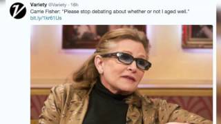 Carrie Fisher shuts down trolls in epic Twitter rant