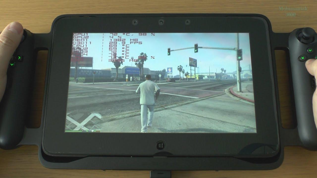 """Célèbre 3# GTA 5 (PC) on 10.1"""" tablet - VERY HIGH DETAILS - AMAZING  PB21"""