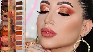 Copper Fall Makeup Tutorial  | Melissa Samways