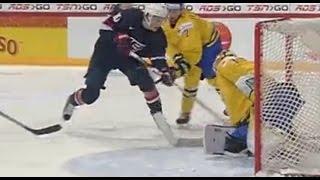 Швеция U20 - США U20 (3-8) 05.01.2016 Хоккей обзор матча