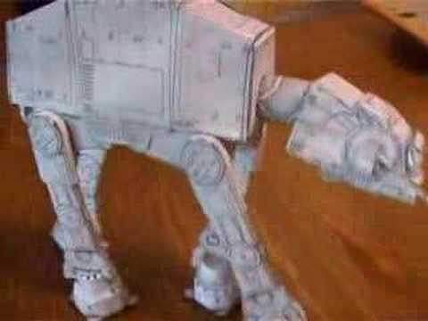 Papercraft Papercraft AT-AT from Star Wars