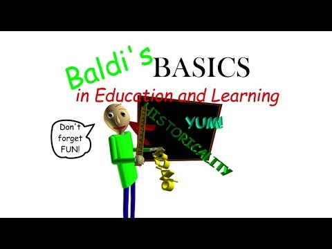 Baldi Basics Sound Effect Roblox Id