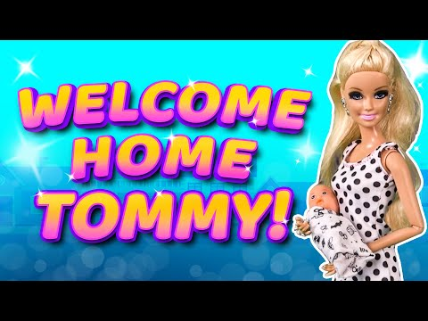 Barbie  Baby Tommy Comes Home  Ep.141