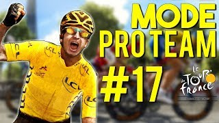 TOUR DE FRANCE 2018 - PRO TEAM #17 : Des bordures & des grosses chutes !