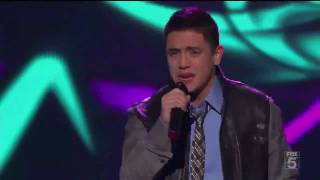 Stefano Langone - Lately - American Idol Top 13 - 03/09/11