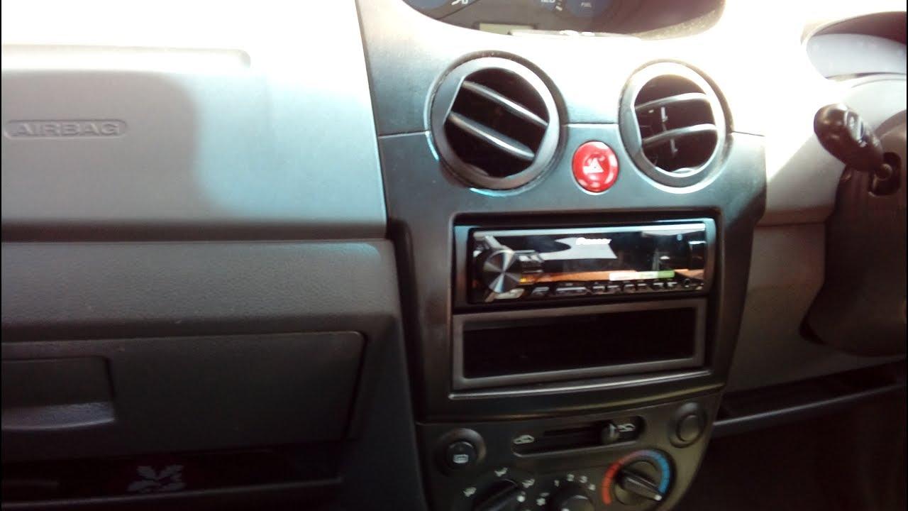 Daewoo Matiz  Chevrolet Spark 2005 2010 radio removal