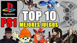 CVG - Top 10 Los Mejores Juegos de Playstation (PS1) de la Historia
